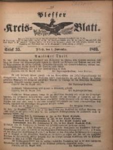 Plesser Kreis-Blatt, 1893, St. 35