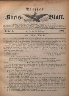 Plesser Kreis-Blatt, 1897, St. 9