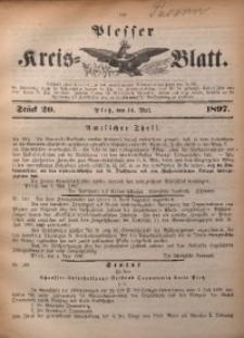 Plesser Kreis-Blatt, 1897, St. 20