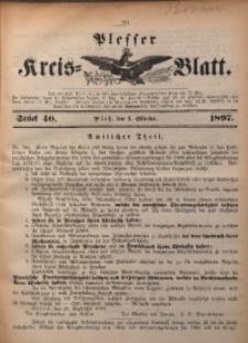 Plesser Kreis-Blatt, 1897, St. 40