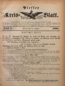 Plesser Kreis-Blatt, 1898, St. 2