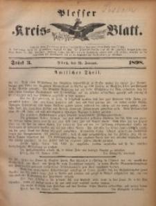 Plesser Kreis-Blatt, 1898, St. 3