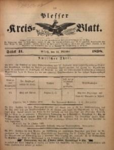 Plesser Kreis-Blatt, 1898, St. 41