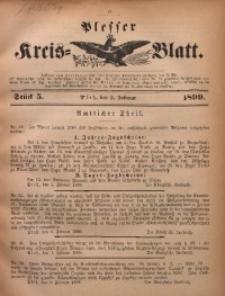 Plesser Kreis-Blatt, 1899, St. 5