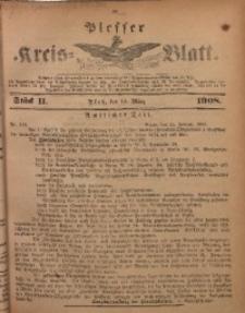 Plesser Kreis-Blatt, 1908, St. 11