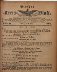 Plesser Kreis-Blatt, 1908, St. 23
