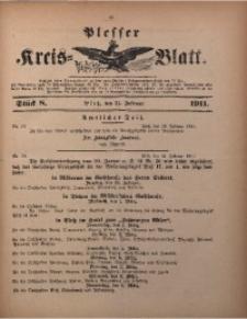 Plesser Kreis-Blatt, 1911, St. 8