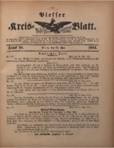 Plesser Kreis-Blatt, 1911, St. 21