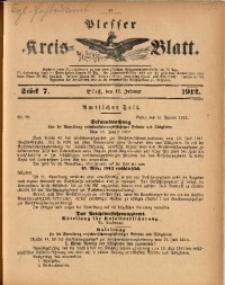 Plesser Kreis-Blatt, 1912, St. 7