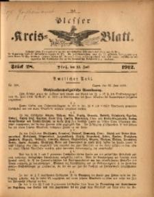 Plesser Kreis-Blatt, 1912, St. 28