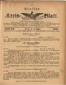Plesser Kreis-Blatt, 1912, St. 34