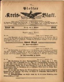 Plesser Kreis-Blatt, 1912, St. 40