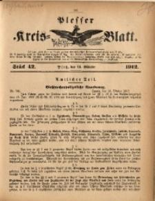 Plesser Kreis-Blatt, 1912, St. 42