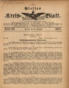 Plesser Kreis-Blatt, 1912, St. 52