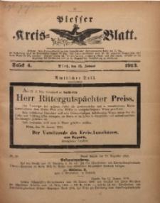 Plesser Kreis-Blatt, 1913, St. 4