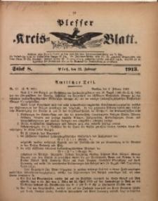 Plesser Kreis-Blatt, 1913, St. 8