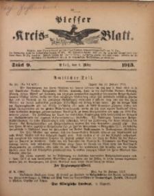 Plesser Kreis-Blatt, 1913, St. 9