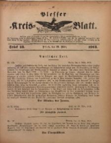 Plesser Kreis-Blatt, 1913, St. 13
