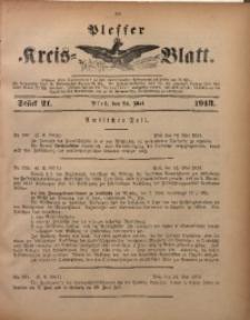 Plesser Kreis-Blatt, 1913, St. 21