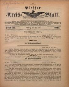 Plesser Kreis-Blatt, 1913, St. 30