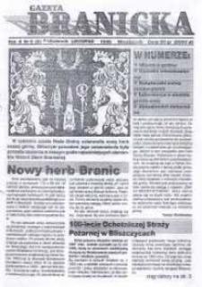 Gazeta Branicka. R. 2, nr 6 [8] (8) [11].
