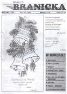 Gazeta Branicka. R. 5, nr 1 (16) [19].