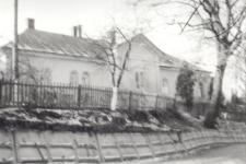 Brzeżany. Dom Uranowiczów w którym dorastał dorastał Edward Rydz-Śmigły. Rok 1964.