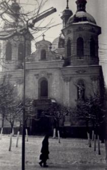 Brzeżany. Cerkiew na rynku. Lata 60. XX w.