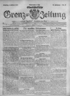 Oberschlesische Grenz-Zeitung, 1920, Jg. 48, Nr. 27