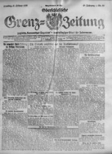 Oberschlesische Grenz-Zeitung, 1920, Jg. 48, Nr. 39