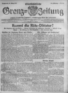 Oberschlesische Grenz-Zeitung, 1920, Jg. 48, Nr. 66