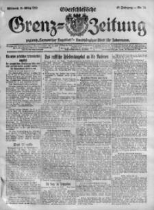 Oberschlesische Grenz-Zeitung, 1920, Jg. 48, Nr. 74