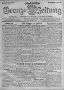 Oberschlesische Grenz-Zeitung, 1920, Jg. 48, Nr. 137