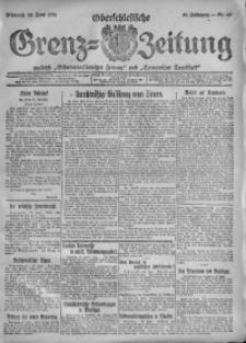 Oberschlesische Grenz-Zeitung, 1920, Jg. 48, Nr. 141