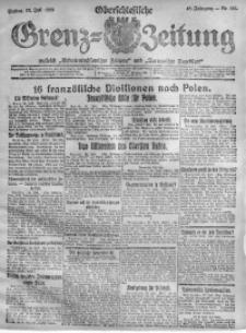 Oberschlesische Grenz-Zeitung, 1920, Jg. 48, Nr. 166