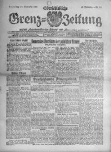 Oberschlesische Grenz-Zeitung, 1920, Jg. 48, Nr. 219