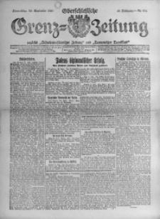 Oberschlesische Grenz-Zeitung, 1920, Jg. 48, Nr. 224