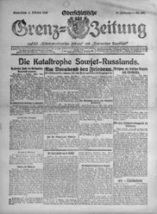 Oberschlesische Grenz-Zeitung, 1920, Jg. 48, Nr. 226