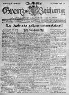 Oberschlesische Grenz-Zeitung, 1920, Jg. 48, Nr. 236