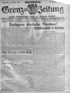 Oberschlesische Grenz-Zeitung, 1920, Jg. 48, Nr. 244