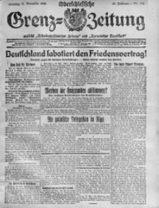 Oberschlesische Grenz-Zeitung, 1920, Jg. 48, Nr. 264