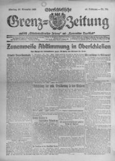 Oberschlesische Grenz-Zeitung, 1920, Jg. 48, Nr. 271