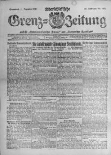 Oberschlesische Grenz-Zeitung, 1920, Jg. 48, Nr. 280