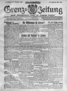 Oberschlesische Grenz-Zeitung, 1920, Jg. 48, Nr. 290