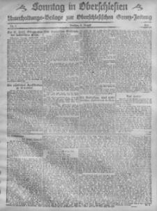 Sonntag in Oberschlesien, 1920, Nr. 2