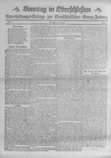 Sonntag in Oberschlesien, 1920, Nr. 3