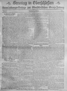 Sonntag in Oberschlesien, 1920, Nr. 13