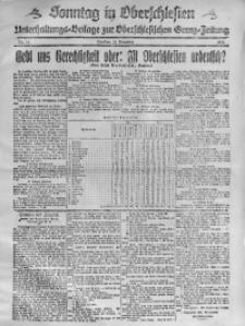 Sonntag in Oberschlesien, 1920, Nr. 21