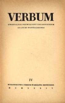 Verbum, 1934, z. 4