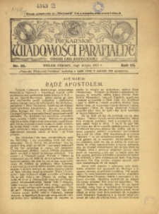 Piekarskie Wiadomości Parafjalne. Organ Ligi Katolickiej, 1931, R. 3, nr 35